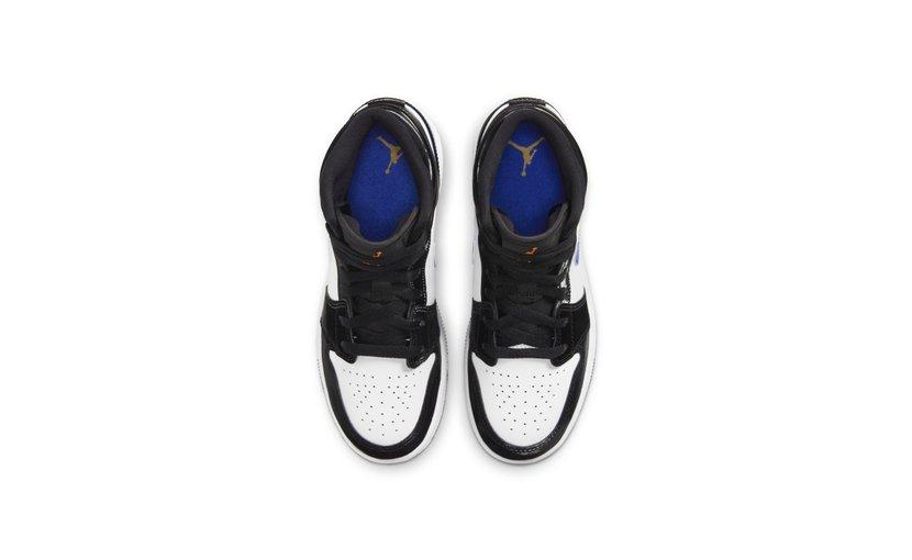 Jordan Air Jordan 1 Mid 'Black Racer Blue' (GS)