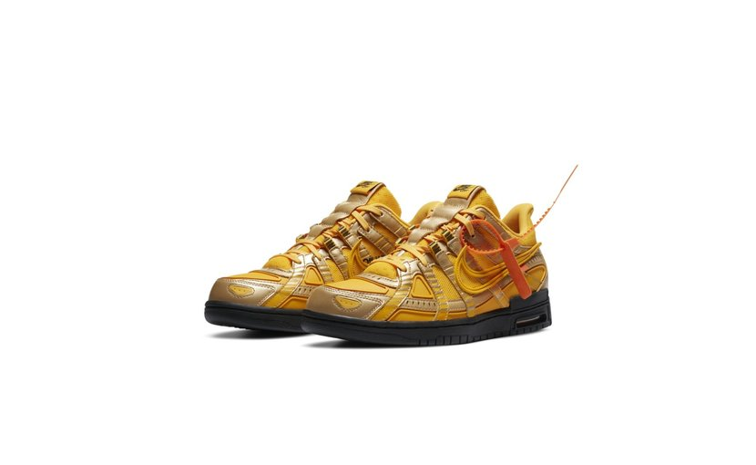 Nike Off-White Air Rubber Dunk 'University Gold'