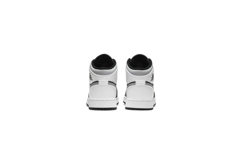 Jordan Air Jordan 1 Mid 'White Shadow' (GS)