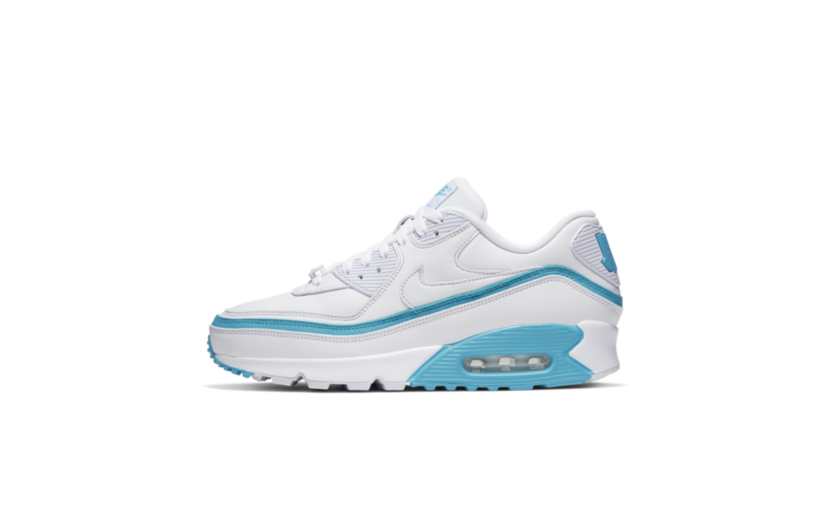 Nike Air Max 90 'Undefeated White Blue Fury'