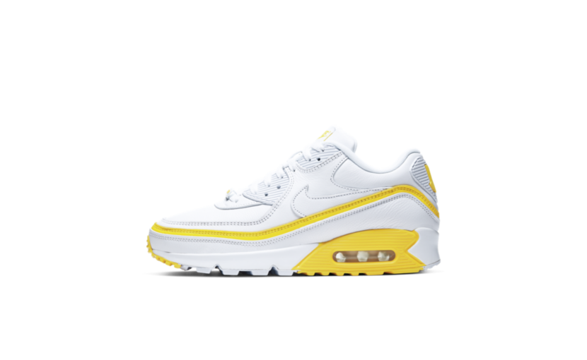 Nike Air Max 90 'Undefeated White Optic Yellow'