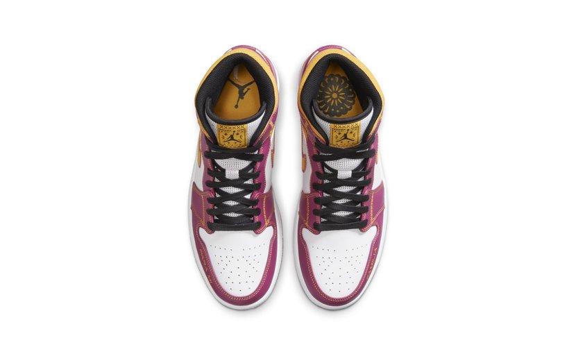 Jordan Air Jordan 1 Mid 'Dia de los Muertos'