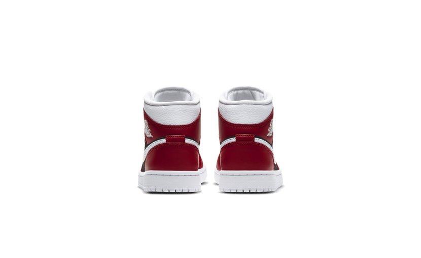 Jordan Air Jordan 1 Mid 'Gym Red Black' (W)