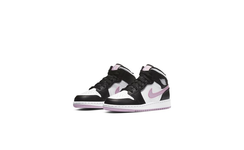Jordan Air Jordan 1 Mid 'White Light Arctic Pink' (GS)