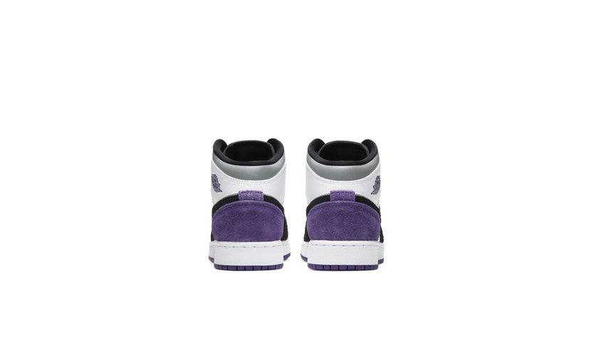 Jordan Air Jordan 1 Mid 'SE Purple' (GS)