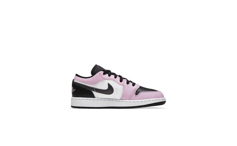 Jordan Air Jordan 1 Low 'White Light Arctic Pink' (GS)