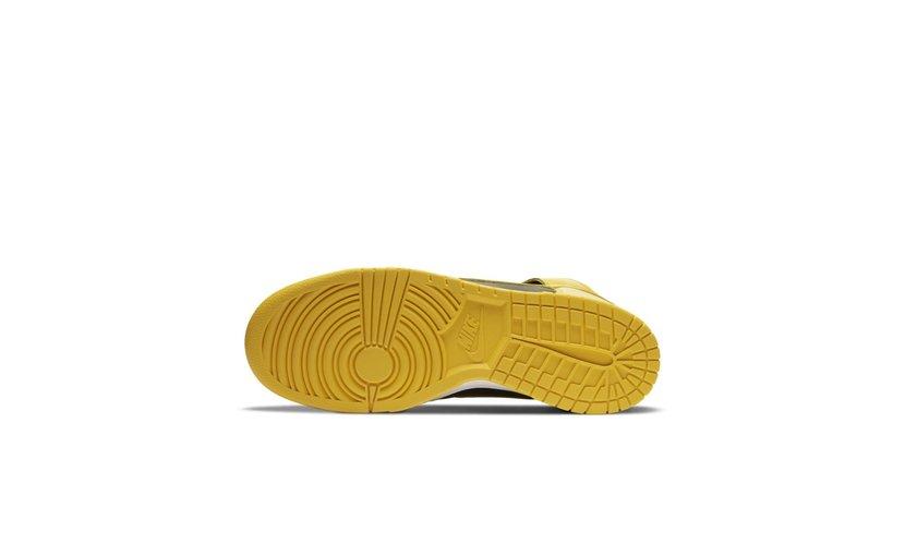Nike Dunk High 'Varsity Maize'