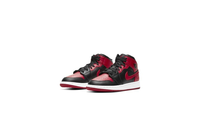 Jordan Air Jordan 1 Mid 'Banned' (2020) (GS)
