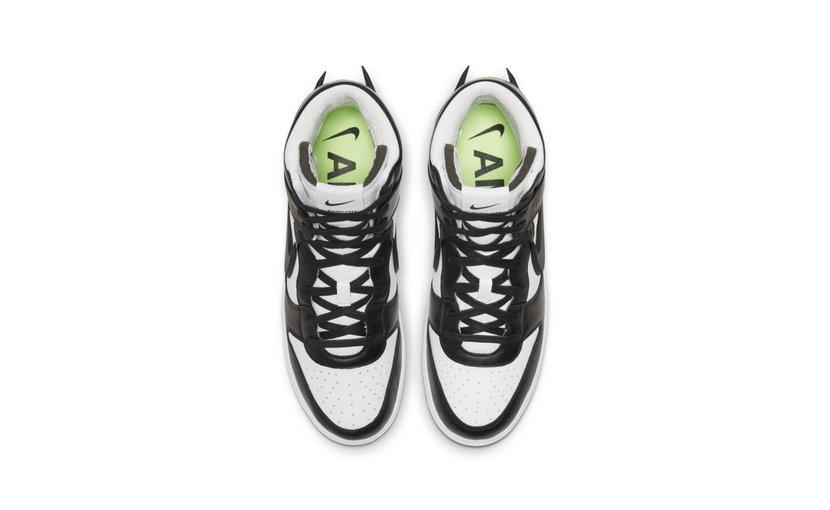 Nike Dunk High 'Ambush Black White'