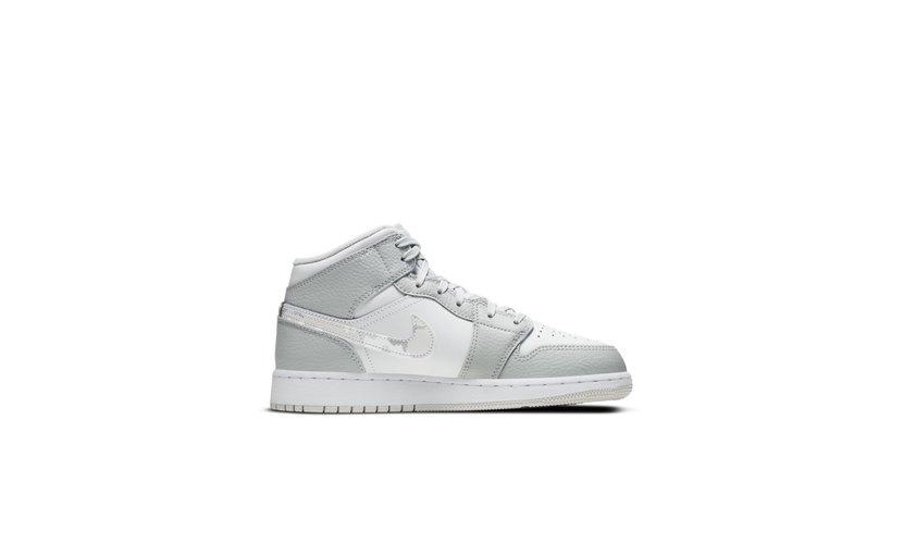 Jordan Air Jordan 1 Mid 'Grey Camo' (GS)