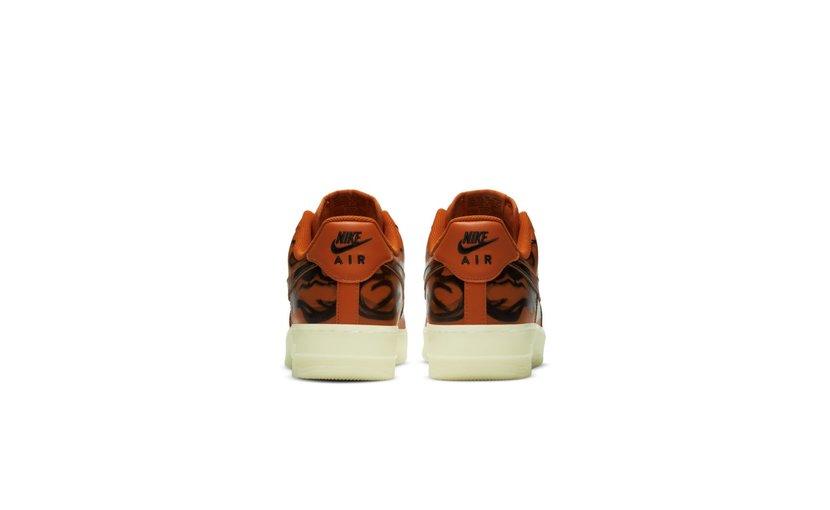 Nike Air Force 1 Low 'Orange Skeleton'