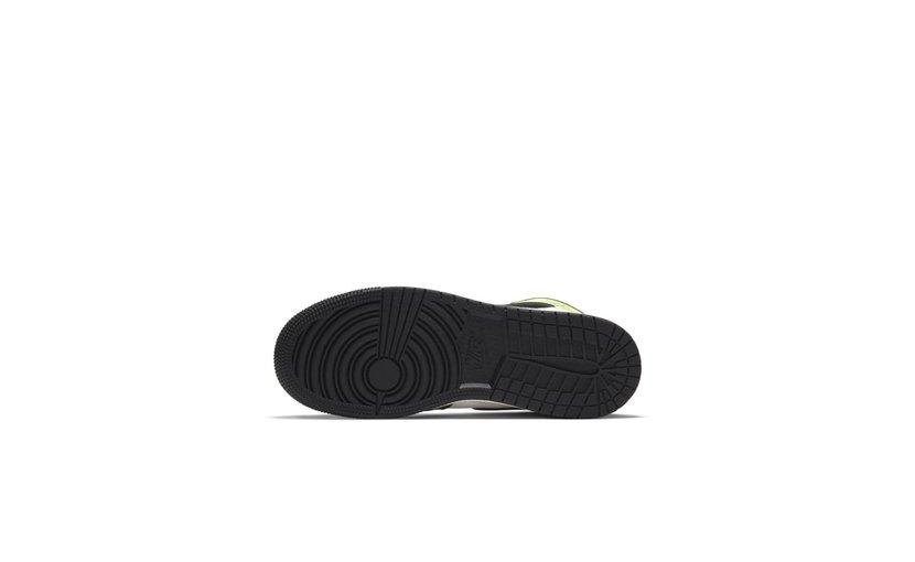 Jordan Air Jordan 1 High 'White Black Volt University Gold' (GS)