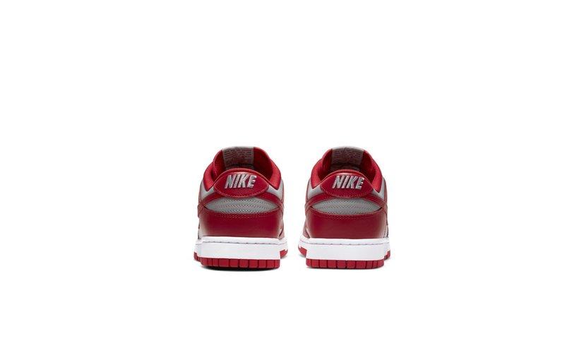 Nike Dunk Low 'Medium Grey Varsity Red UNLV' (2021)