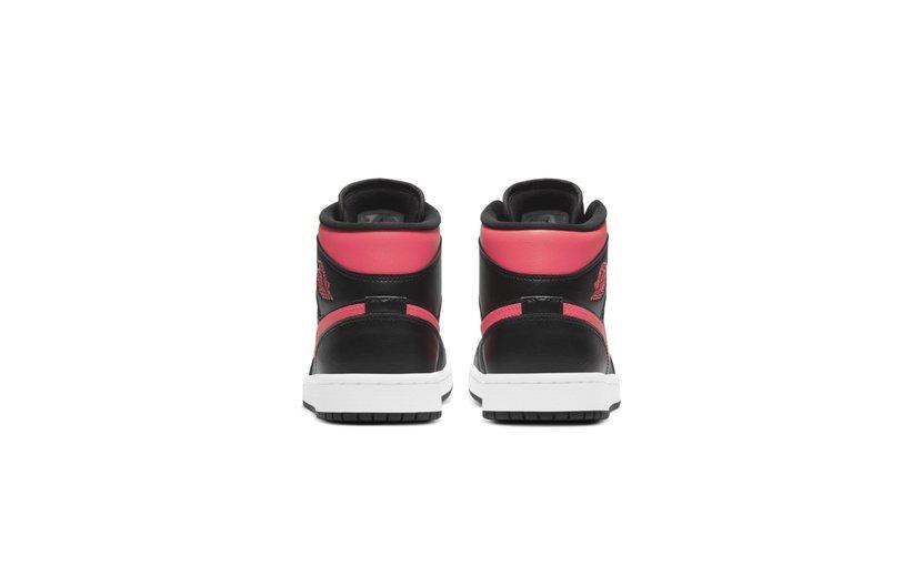 Jordan Air Jordan 1 Mid 'Black Siren Red' (W)
