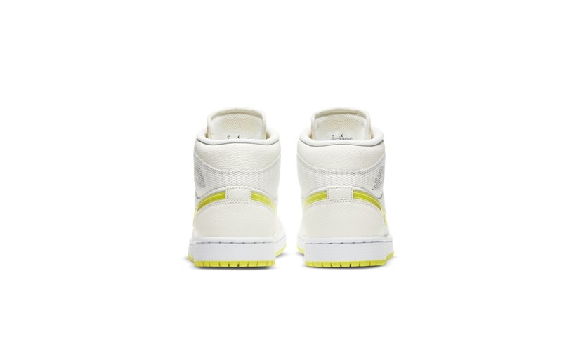 Jordan Air Jordan 1 Mid 'Voltage Yellow' (W)