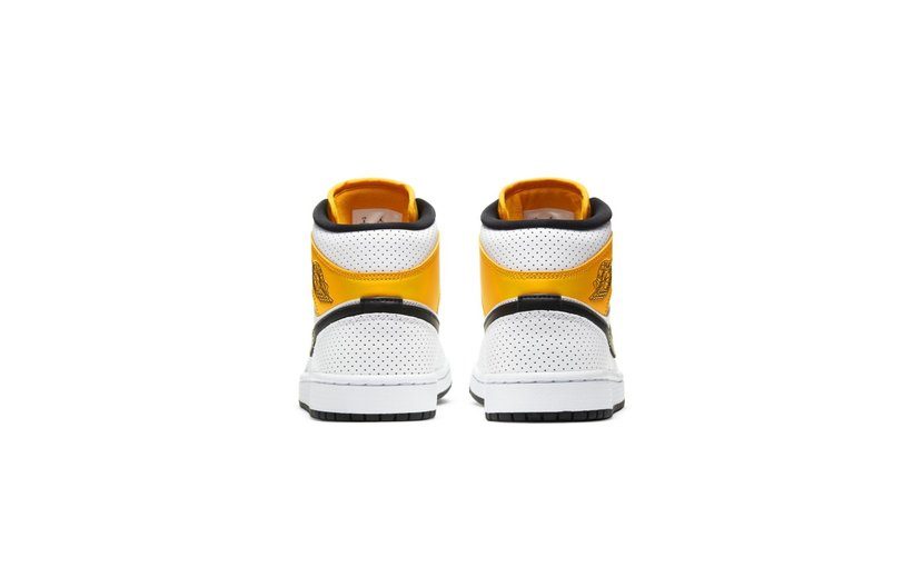 Jordan Air Jordan 1 Mid 'Laser Orange' (W)