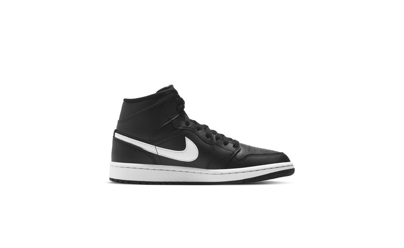 Jordan Air Jordan 1 Mid 'Black White' (W)