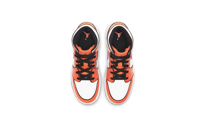 Jordan Air Jordan 1 Mid 'Turf Orange' (GS)