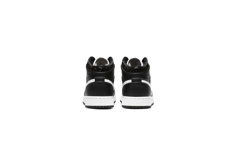 Jordan Air Jordan 1 Mid 'Black Speckle' (GS)