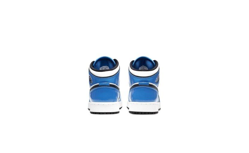 Jordan Air Jordan 1 Mid 'Signal Blue' (GS)