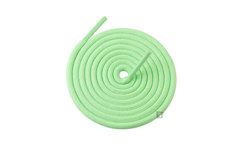Sneakin Yeezy Rope Laces 'Fluorescent Green'