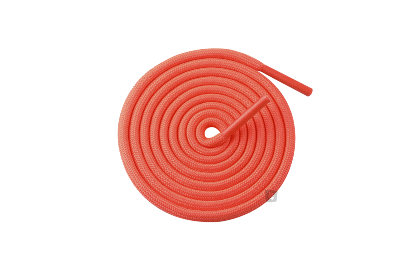 Sneakin Yeezy Rope Laces 'Fluorescent Orange'