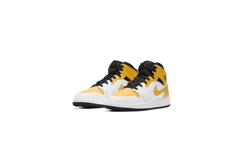 Jordan Air Jordan 1 Mid 'University Gold' (GS)