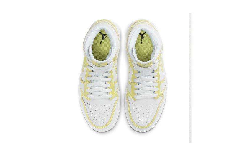 Jordan Air Jordan 1 Mid 'Opti Yellow' (W)