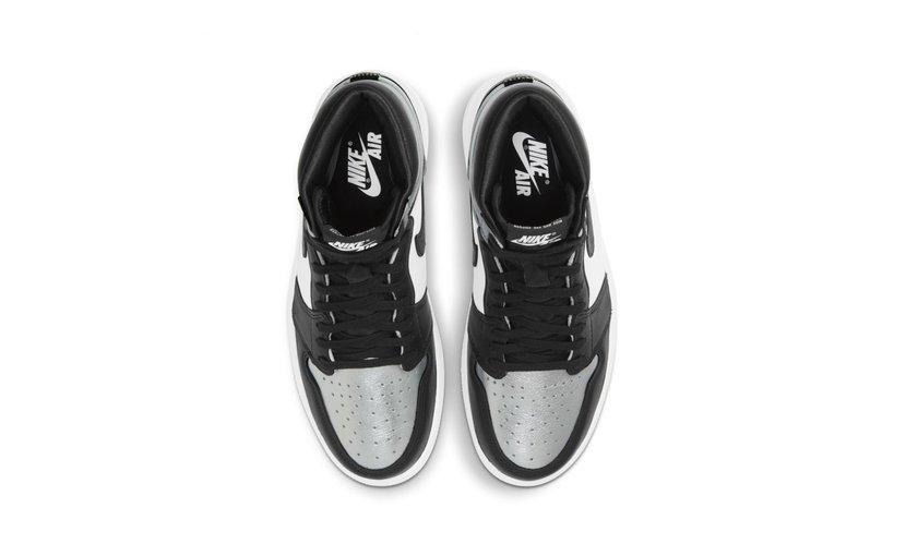 Jordan Air Jordan 1 High 'Silver Toe' (W)