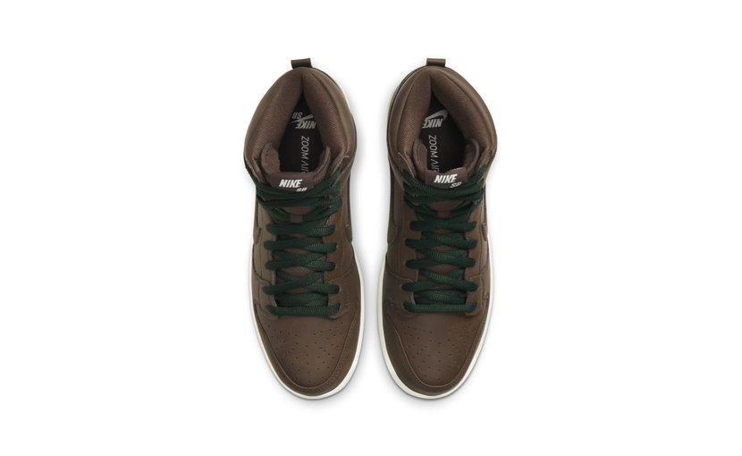 Nike SB Dunk High 'Baroque Brown'
