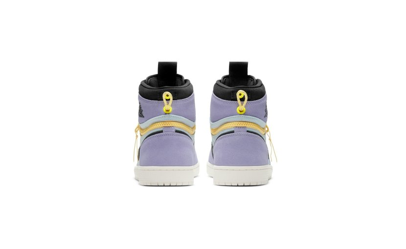 Jordan Air Jordan 1 High Switch 'Purple Pulse Black'