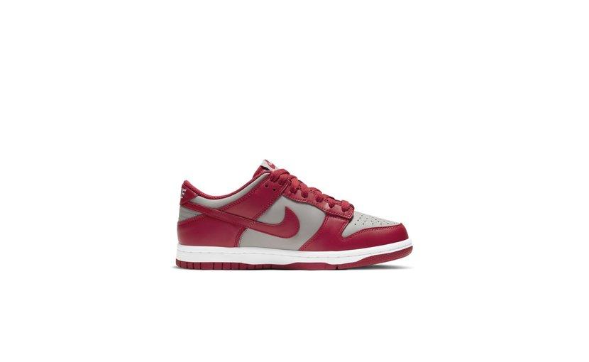 Nike Dunk Low 'Medium Grey Varsity Red UNLV' (2020) (GS)
