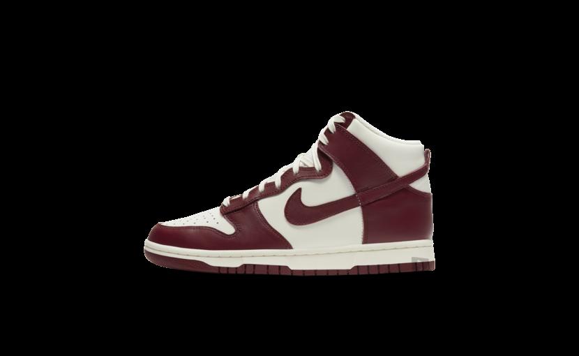 Nike Dunk High 'Sail Team Red' (W)