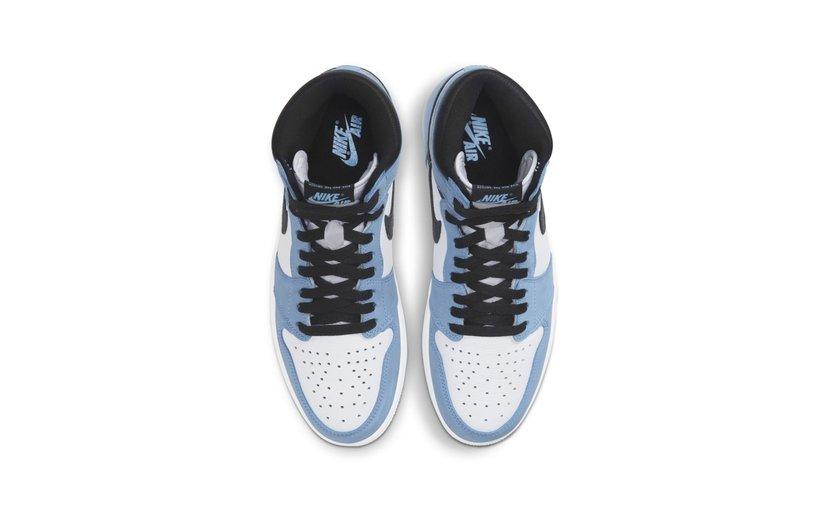 Jordan Air Jordan 1 High 'White University Blue Black'