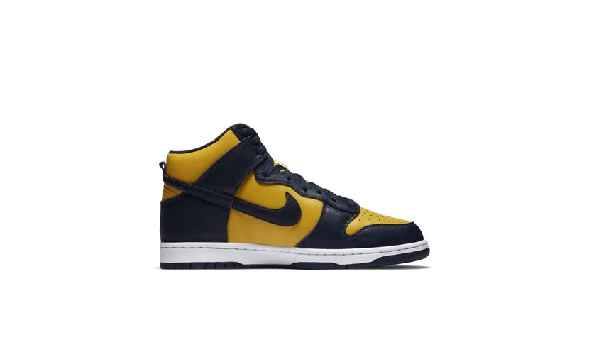 Nike Dunk High 'Michigan' (2020)