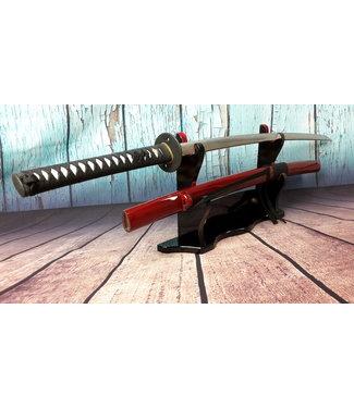 Samurai zwaard Ronin 47 donker rode saya