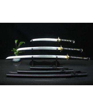 Samurai zwaarden set met standaard