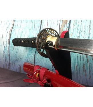 Samurai zwaard van gevouwen staal (n)