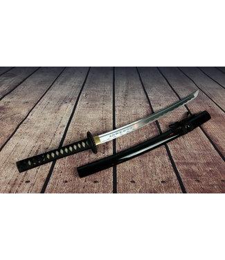 Wakizashi samurai zwaard japanse tekens