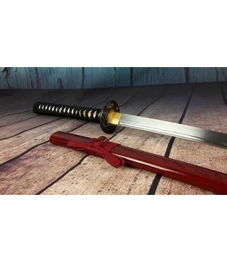 Samurai zwaard T rode saya