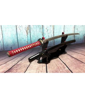 Samurai zwaard rode ito en zwarte saya