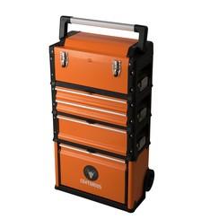 Centurius gereedschapstrolley oranje