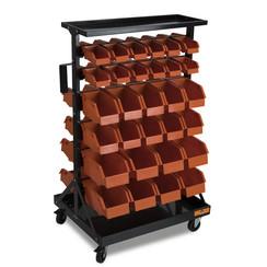 Système de stockage mobile Centurius avec 60 conteneurs