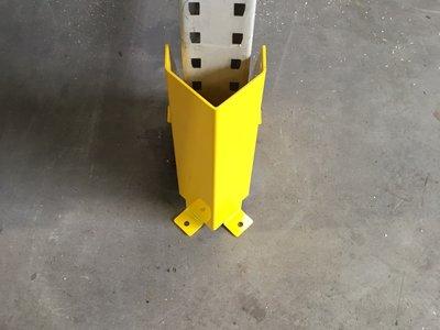 Stijlbeschermer 4mm Ral-1021 geel, incl. 4 ankers