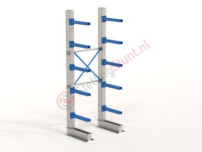 Draagarmstelling Basisvak Enkel 2964x1000x600mm (hxbxd)