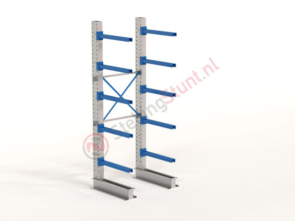 Draagarmstelling Basisvak Enkelzijdig 2964x1000x800mm (hxbxd)