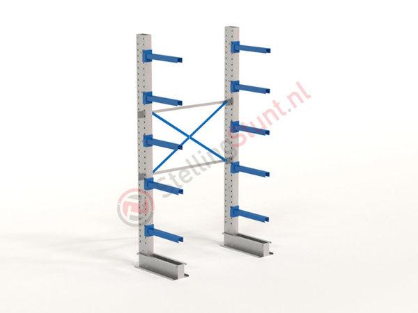 Draagarmstelling Basisvak Enkelzijdig 2964x1500x600mm (hxbxd)