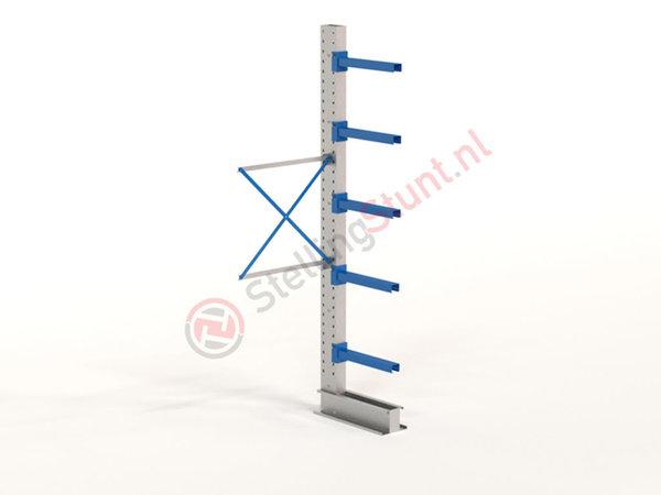 Draagarmstelling Aanbouwvak Enkelzijdig 2964x1000x600mm (hxbxd)