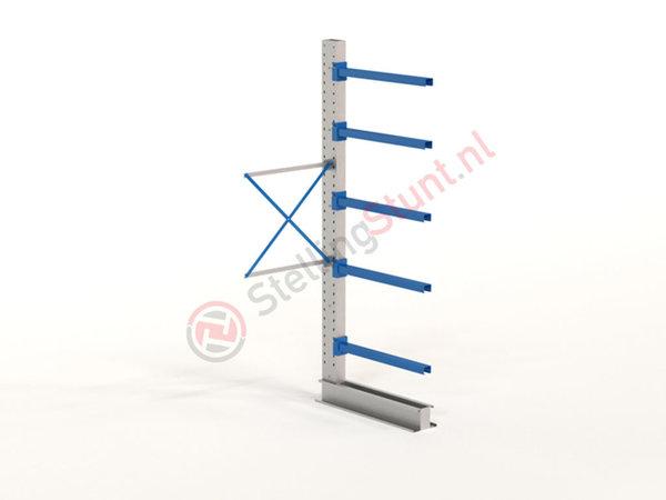 Draagarmstelling Aanbouwvak Enkelzijdig 2964x1000x1000mm (hxbxd)