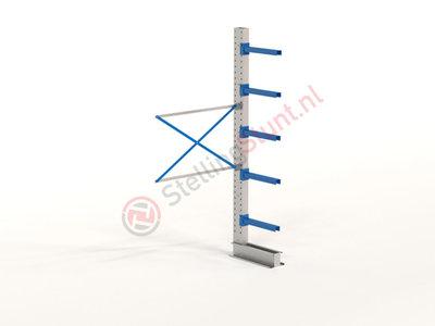 Draagarmstelling Aanbouwvak Enkel 2964x1500x600mm (hxbxd)